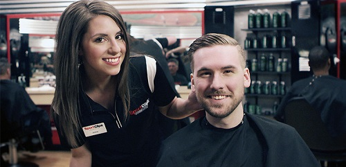 Sport Clips Haircuts of North Naples - Granada Shoppes stylist hair cut